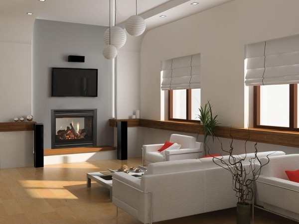 Alluring Perfect Modern Electric Fireplace For Sophisticated Interior Look Electric Fireplaces For Small Living Rooms