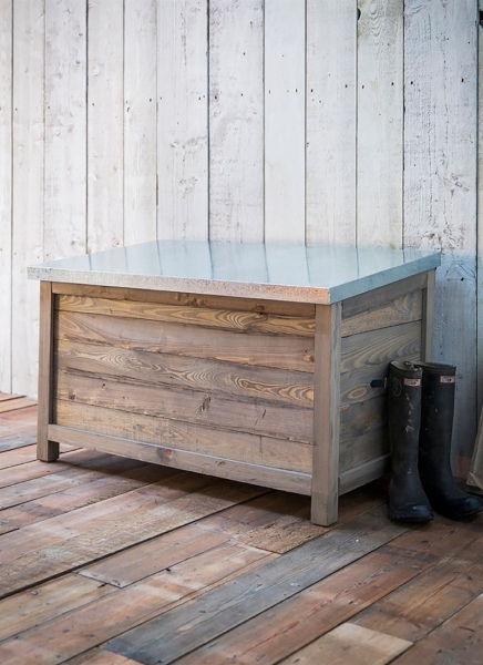 Beautiful Outdoor Wooden Storage Box Garden Trading Outdoor Storage For Small Spaces