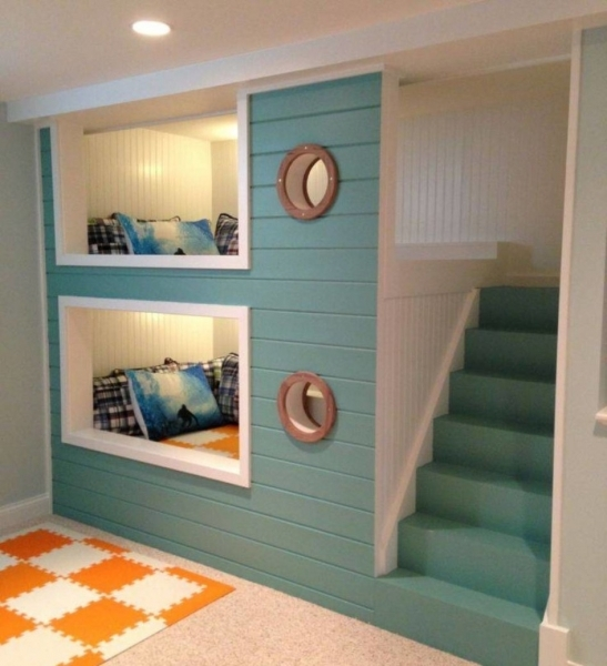 Fascinating Bedrooms Interior Space Saving Bunk Beds For Small Kids Room With Space Saving Beds For Small Rooms