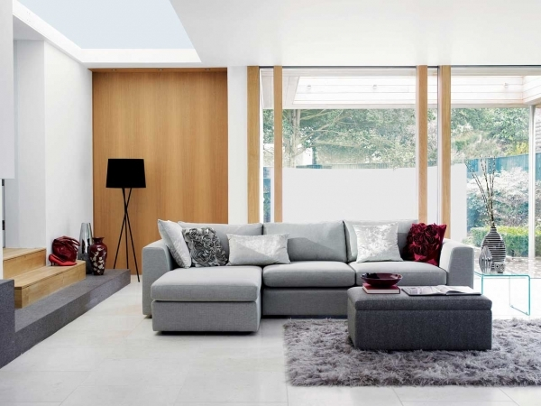 Fascinating Small Living Room Design With Colorful Gray Sofa Living Room Gorgeous Small Living Rooms