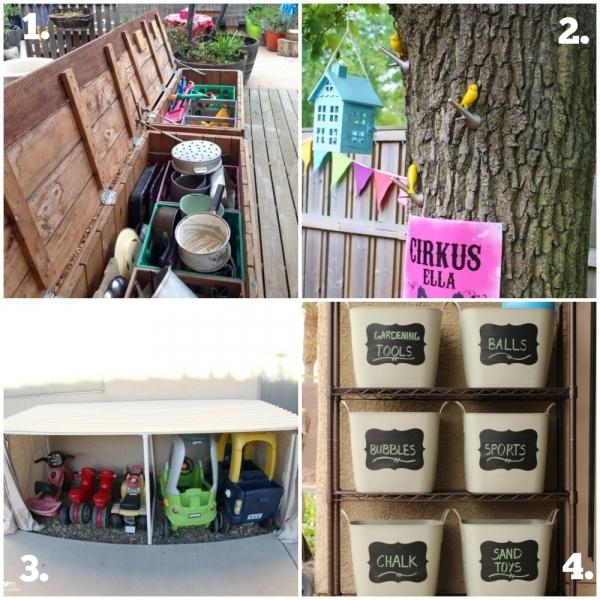 Gorgeous Outdoor Play Series 1 Working With Small Spaces Mummy Musings Outdoor Storage For Small Spaces