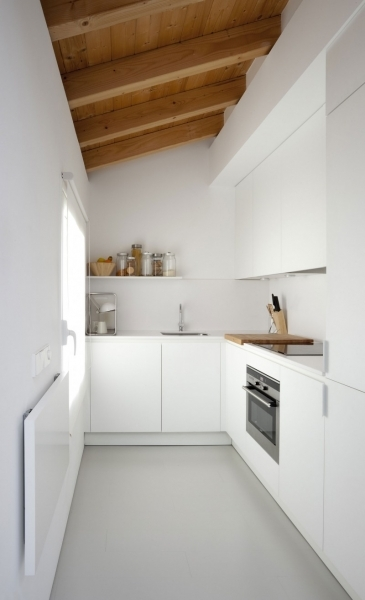 Inspiring Apartments Remodeling Small White Kitchen Design White Drawer Small White Kitchen Designs