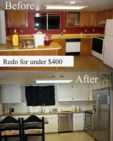 Marvelous Kitchen Makeovers Before And After Arzacano Small Kitchen Makeovers On A Budget