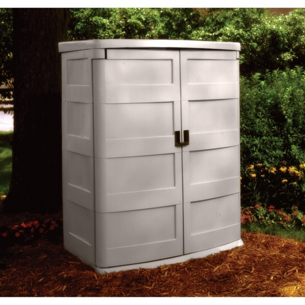 Picture of Suncast Storage Cabinet Organization For Outdoor Area Small Home Outdoor Storage For Small Spaces