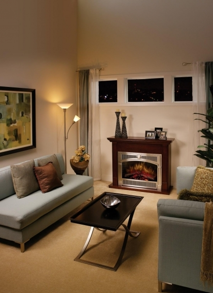 Remarkable Perfect Modern Electric Fireplace For Sophisticated Interior Look Electric Fireplaces For Small Living Rooms
