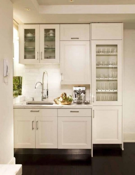 Stylish Kitchen 13 Best Space Saving Small Kitchens And Color Design Small White Kitchen Designs