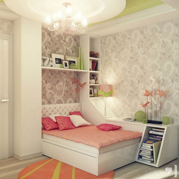 Amazing Small Teen Bedroom Decorating Ideas 3732 Decorate A Teen Girls Bedroom With Single Size Bed And Small Room