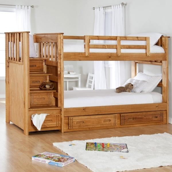Beautiful Bedroom Designs Practical Twin Bunk Beds For Two Kids In A Small Small Bedroom Two Kids