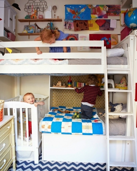 Delightful Shared Kids Rooms A Cup Of Jo Small Bedroom Two Kids