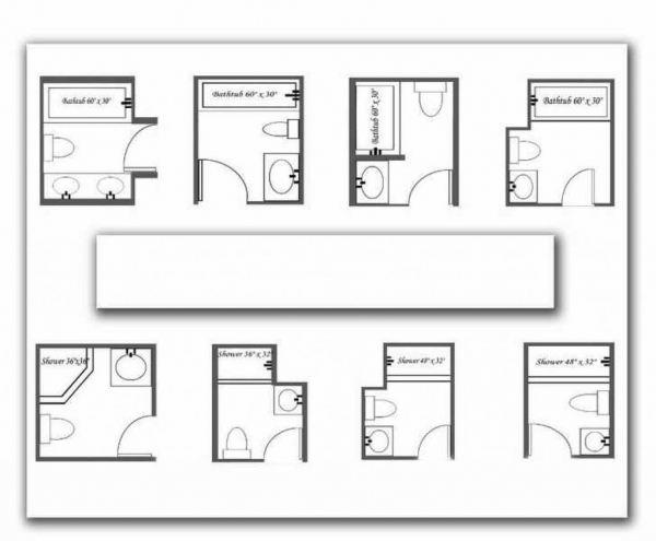 Fascinating Best Wonderful Bathroom Plans With Dimensions 5097 Plans For Small Bathrooms