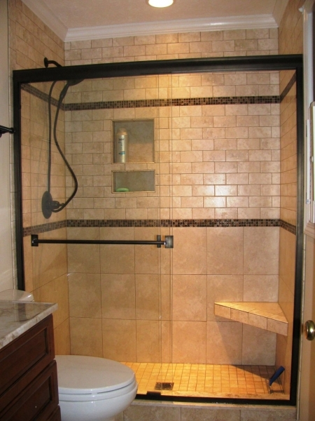 Gorgeous Astounding Black Shower Room Door Frame Design And Nice Small Nice Small Bathroom With Shower