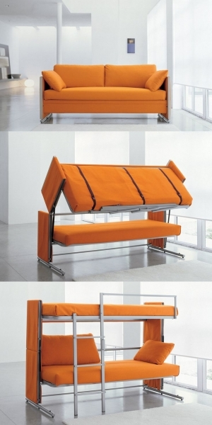 Image of Double Beds Awesome Inventions 2013 Cool Inventions For Kids To Cabin Beds For Small Rooms