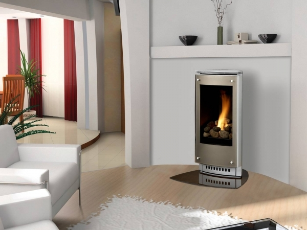 Marvelous Design Your Standing Gas Fireplace With These Fascinating Designs Small Corner Wall Gas Fireplace