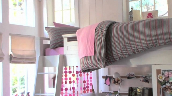 Outstanding Loft Bed Ideas For Small Rooms Pbteen Youtube Pottery Barn Teen Small Room