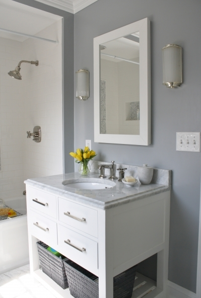 Outstanding Small Bathroom Paint Color Schemes Home Decorating Ideas And Tips Bathroom Colors For Small Bathroom
