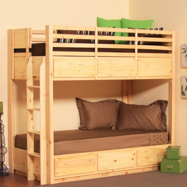 Picture of Bedroom Designs Astonishing Twin Bunk Beds Wooden Style Simple Small Bedroom Two Kids
