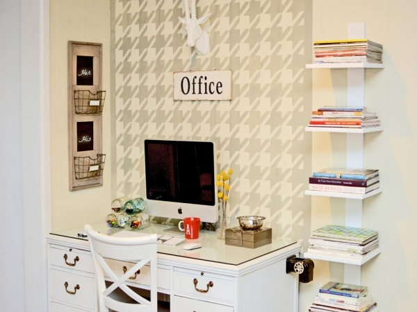 Picture of Home Office Organization Quick Tips Easy Ideas For Organizing Small Organized Homes