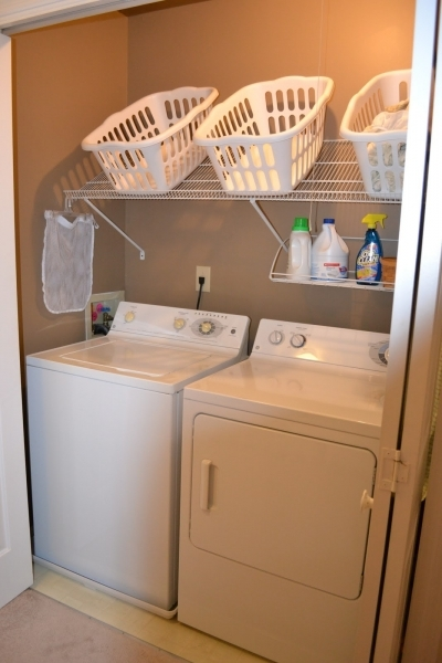 Remarkable Remodelaholic 25 Ideas For Small Laundry Spaces Shelving For Small Spaces
