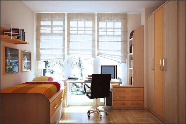 Awesome Bedroom Design Fascinating Light Green And White Modern Wardrobe Small Bedroom Design With Wardrobe