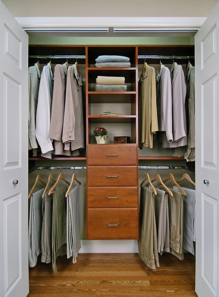 Awesome White Dual Swing Door Feature Space Saving Small Walk In Wardrobe Wardrobe Small Apartment