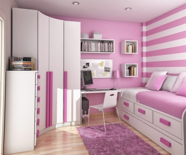 Best Stripes Wall Idea And Modern Corner Wardrobe Design With Cute Corner Wardrobes For Small Rooms