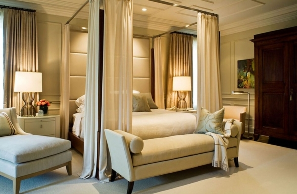 Delightful Bedroom Romantic Bedroom Curtain Ideas With Bench And Best Small Romantic Master Bedroom Decorating Ideas