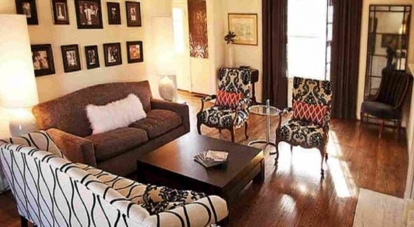Furniture Arrangements For Small Living Rooms