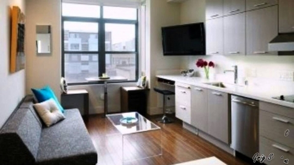 Gorgeous 300 Sq Ft Apartments Living In A Small Apartment Youtube Small Apartments Pictures