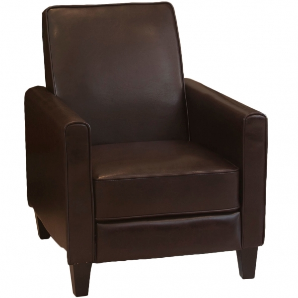 Outstanding Small Amp Apartment Size Recliners Wayfair Small Leather Recliner