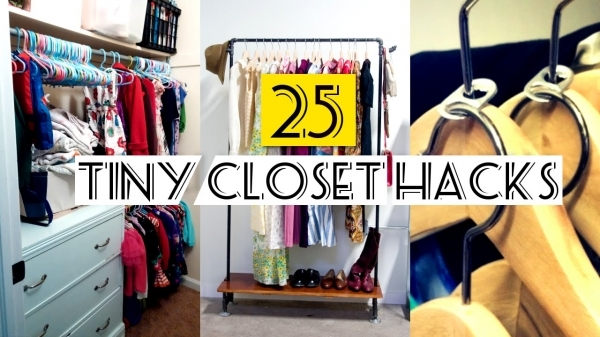 Picture of 25 Organizing Small Closet Ideas Youtube Organizing A Small Closet Ideas
