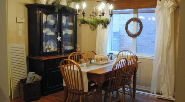 Decorating Small Rustic Dining Rooms