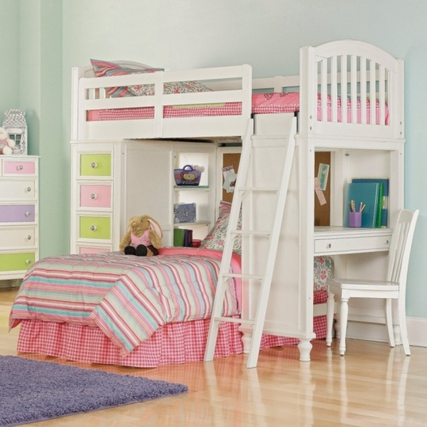 Wonderful Bedroom Lovely Designs Bunk Beds For Teens Ideas Full Bunk Beds Small Girls Bunk Beds Decorating Ideas