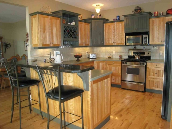 Awesome Flamboyant Small Kitchen Remodeling With Having Natural Brown Small Kitchen Remodeling Ideas