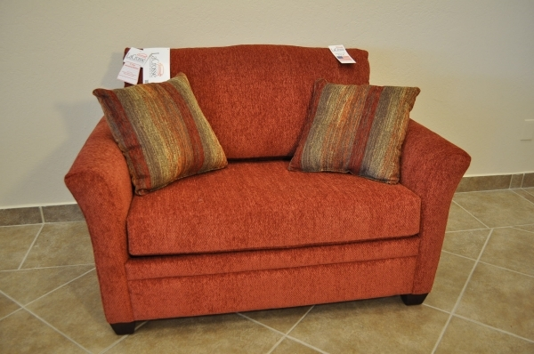 Fascinating Furniture Loveseat Sleeper Sofa With Red Fabric Cover And Cushion With Storage For Saving Small Living Room Spaces Ideas Loveseat Sleeper Sofa Loveseat Small Loveseats For Small Spaces