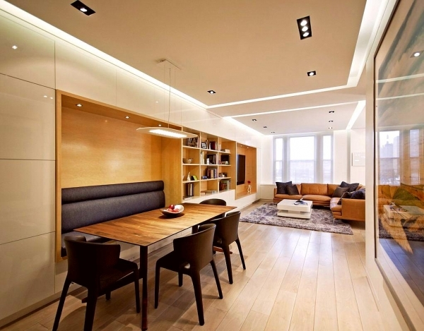 Gorgeous Living Room Long Narrow Living Dining Room Design With Rectangle Decorate Small Living Room Dining Room Combo