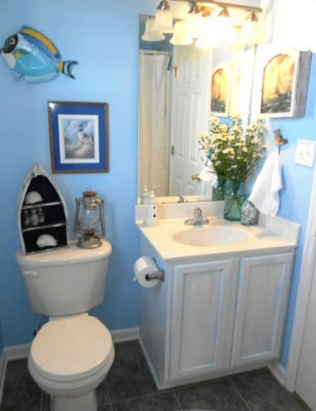 Image of Small Bathroom Colors And Ideas Home Decorating Ideas Can You Paint A Small Bathroom A Dark Color