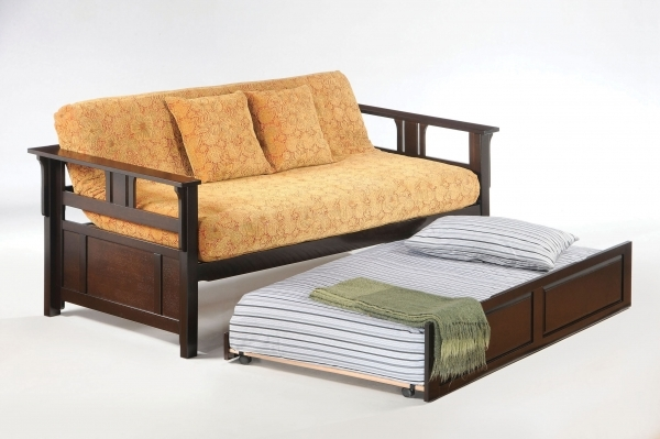 Marvelous Beds Beds Small Spaces Brown Futon Sleeper Kahlaco Small Space Futons