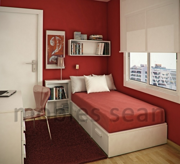 Outstanding Design Ideas Smooth Rug Wooden Flooring Single Bed Room Designs Small Rooms With 2 Beds