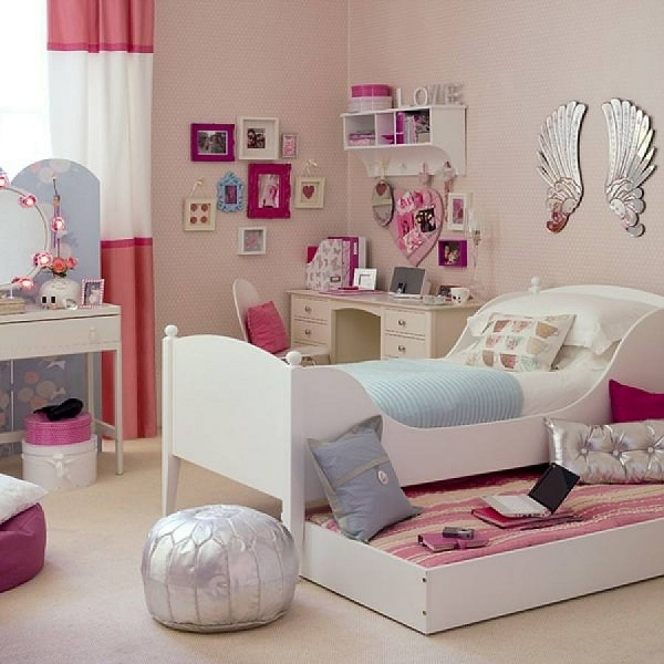 Picture of Captivating Teenage Girl Bedroom Ideas For Small Rooms Pics Small Bedroom For Girls