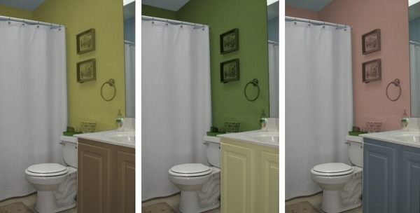 Remarkable Finding Small Bathroom Color Ideas Inspirational Home Decorations Can You Paint A Small Bathroom A Dark Color