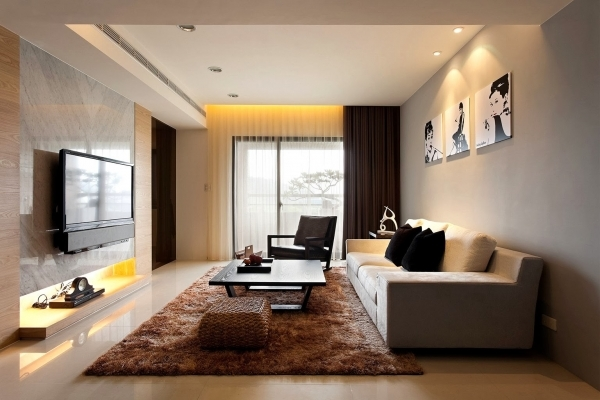 Wonderful Exciting Small Living Room Design Ideas With Brown Fabric Sofa Modern Small Living Room Decorating Ideas