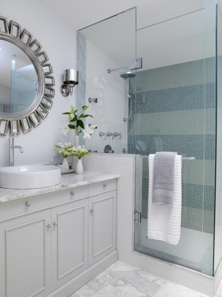 Awesome 15 Simply Chic Bathroom Tile Design Ideas Bathroom Ideas Subway Tile Small Bathroom