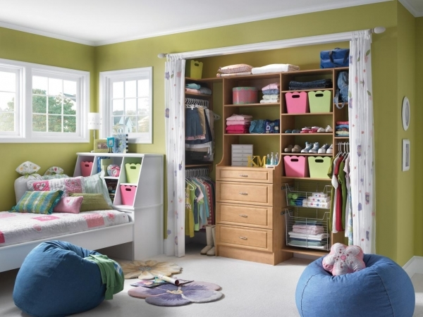 Awesome Small Closet Organization Ideas Pictures Options Amp Tips Home Bedroom Closet Door Ideas For Small Spaces