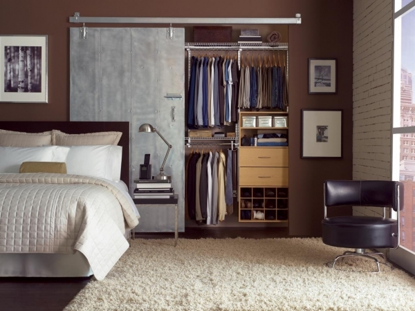 Picture of Small Closet Organization Ideas Pictures Options Amp Tips Home Bedroom Closet Door Ideas For Small Spaces