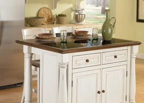 Small Kitchen Island With Stools