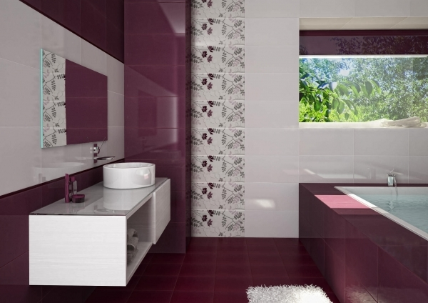 Amazing Wall Colors Combined With White Tile Best Colours For Small Bathrooms