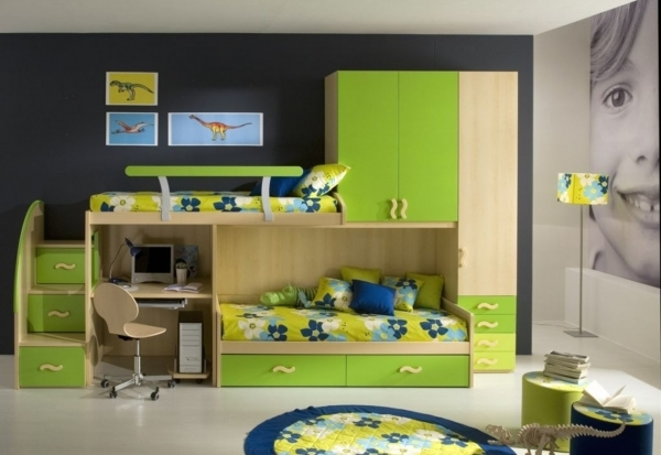 Awesome Space Saving Designs For Small Kids39 Rooms Rooms Small Kids Room Furniture For Small Childrens Bedroom