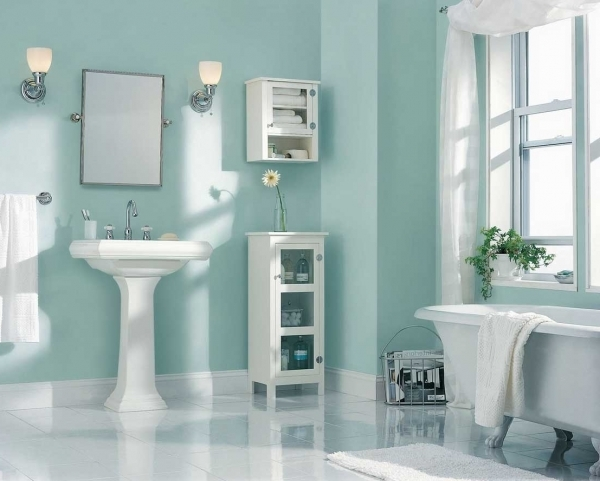 Best Home Design Inspiration With Rectangular Sink Best Colours For Small Bathrooms
