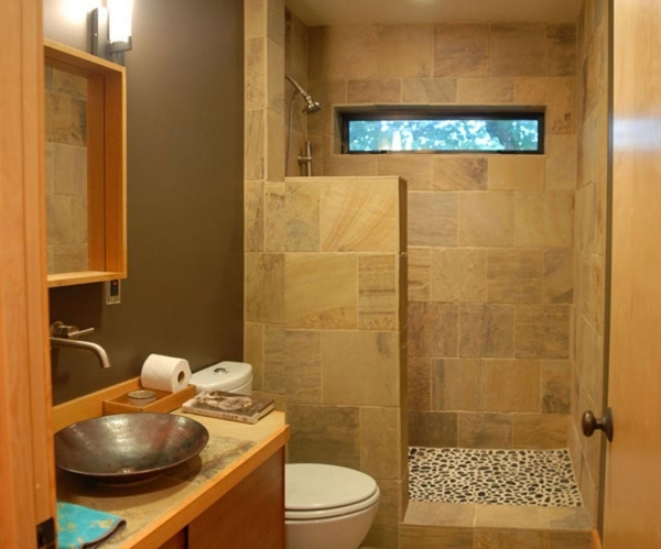Fantastic 1000 Images About Small Bathroom Designs On Pinterest Natural Small Bathroom Design