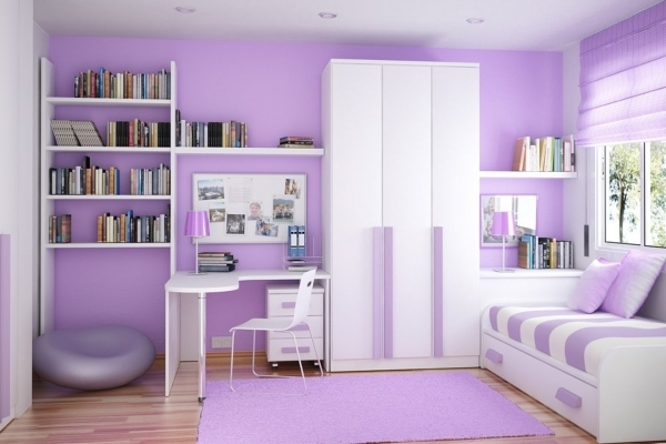 Gorgeous Cute Dual Combo Study And Bedroom Interior Decoration Ideas Kids Teenage Small Bedroom Design